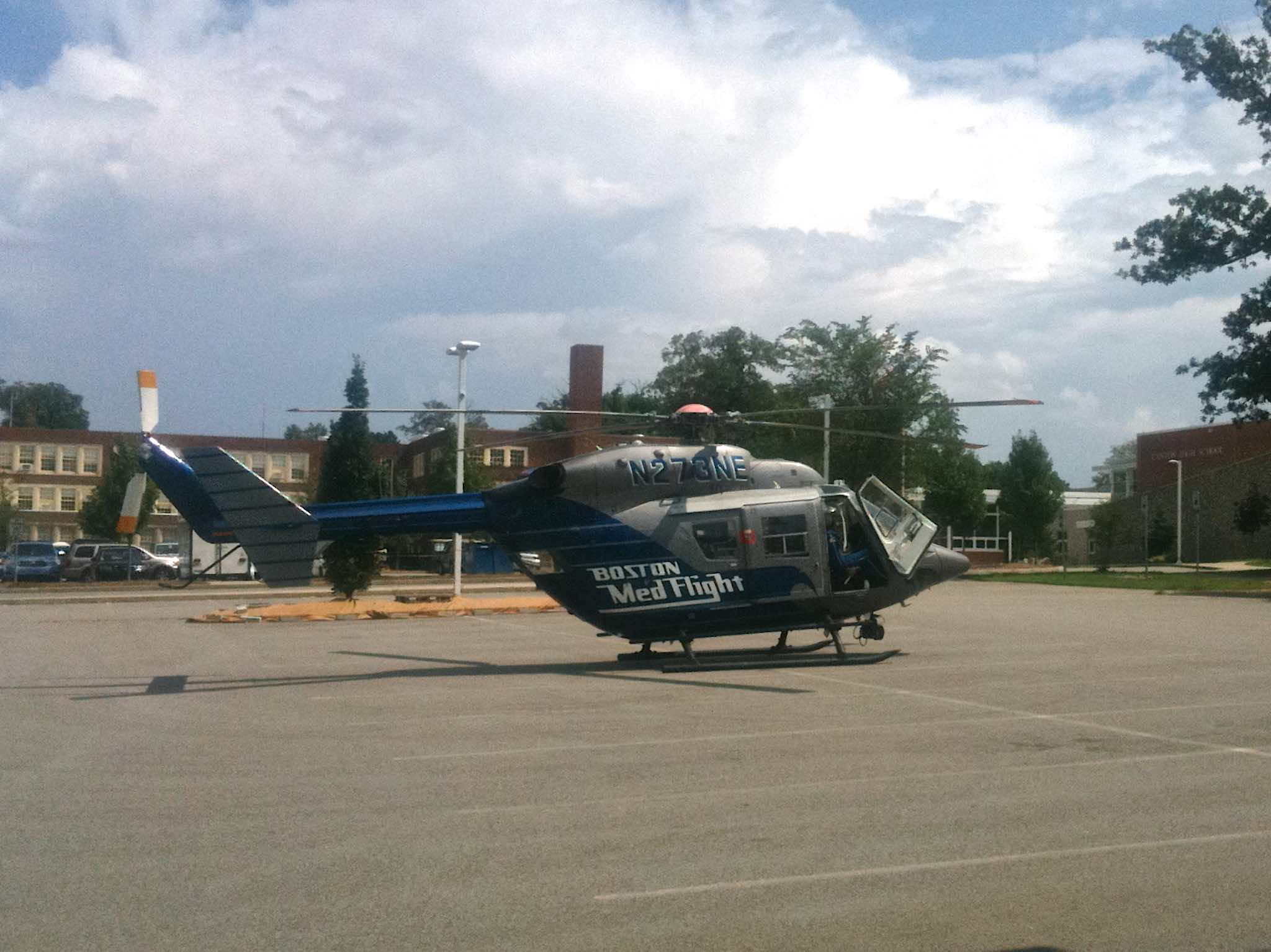 MedFlight helicopter