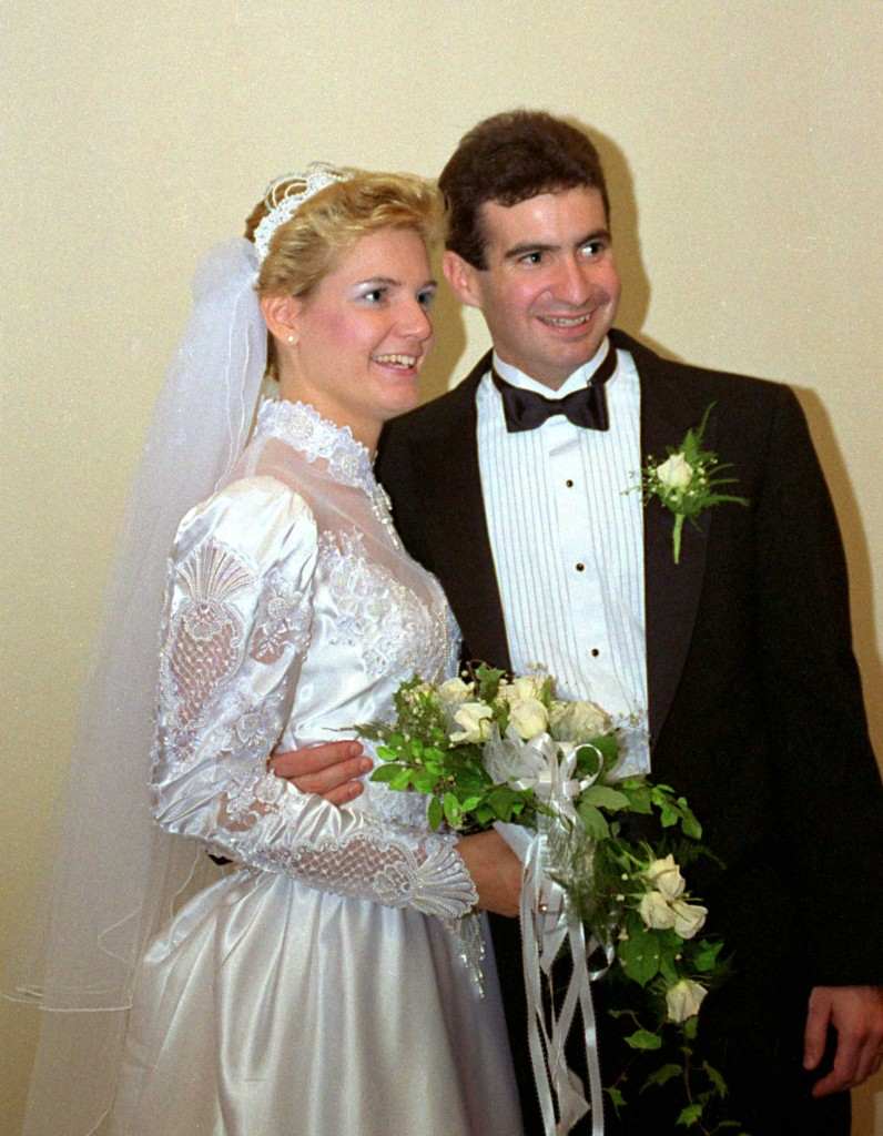 Pam and Brian, October 1, 1988