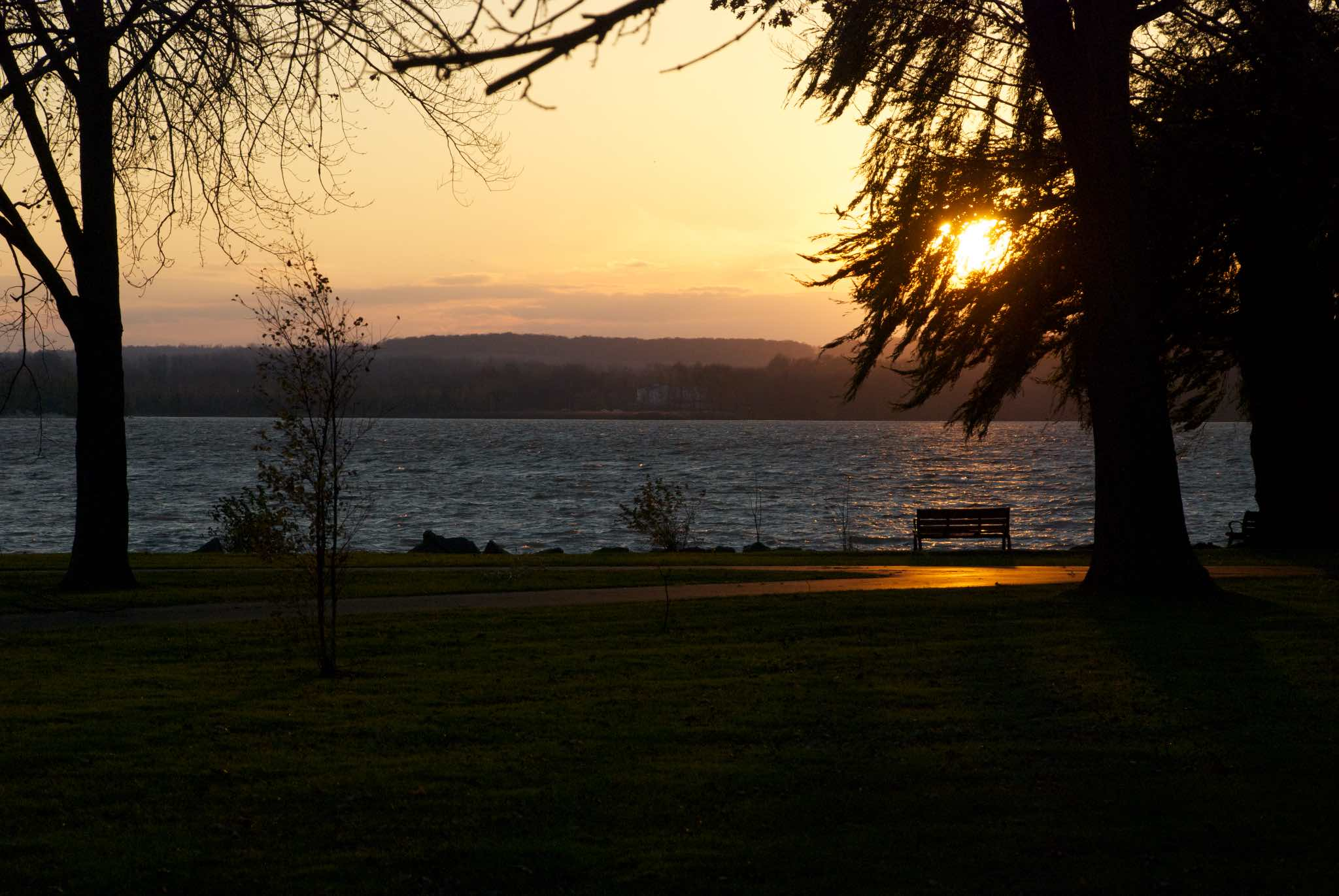 Sunset at Onandaga