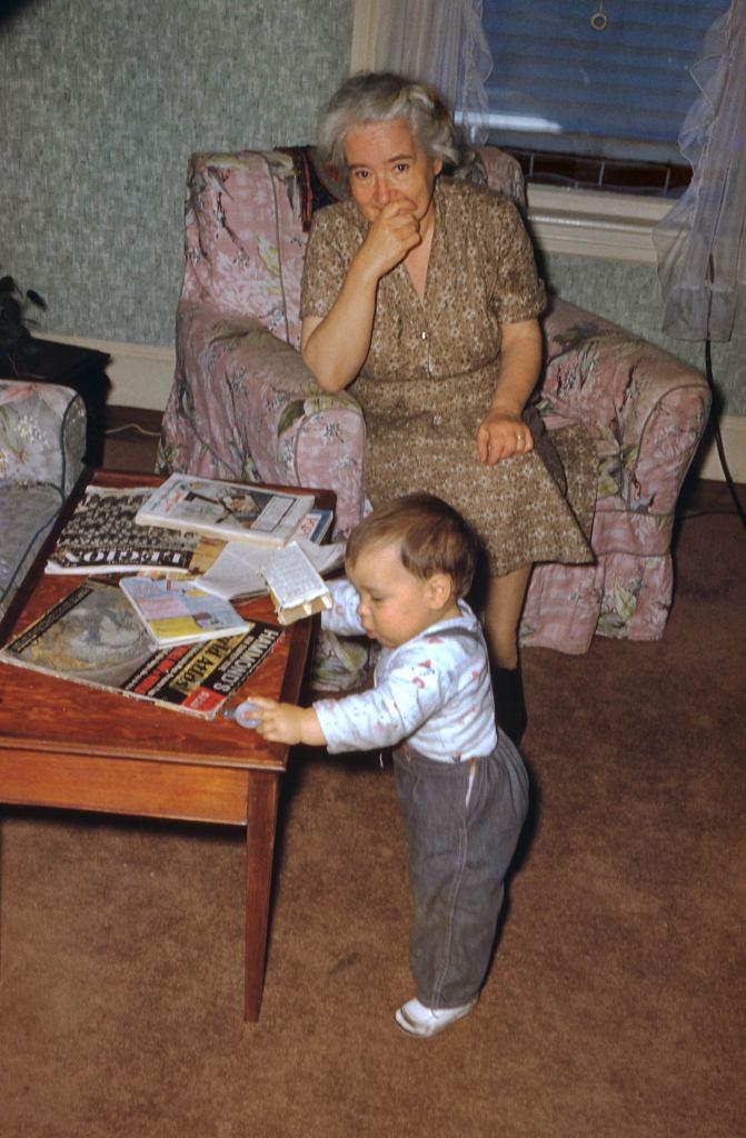 Bill and Grandma